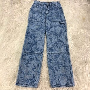 BDG Printed High-Rise Baggy Jeans